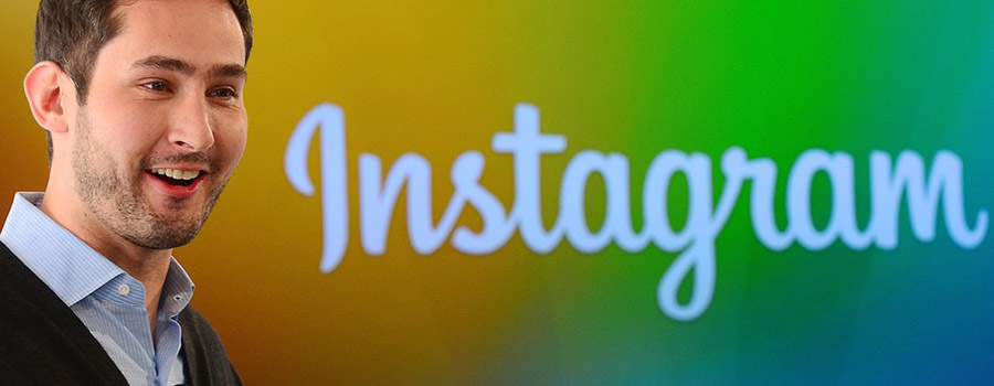 เควิน ซิสตรอม ก่อตั้ง Instagram