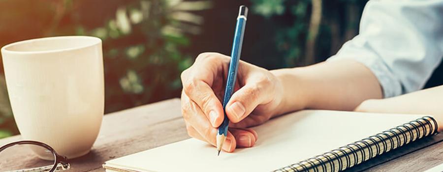 กำจัดข้ออ้างด้วยการลงมือเขียน